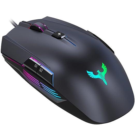 25 opinioni per Gaming Mouse, BLADE HAWKS Mouse da Gioco Regolazione RGB con 8 Pulsanti