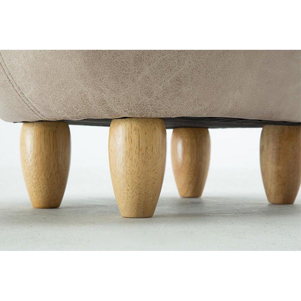 Worth Having Grauer Schicker Schwein Stil /ändern Der Schuhhocker tr/ägt einen Schuhhocker Sofa Hocker Xuan