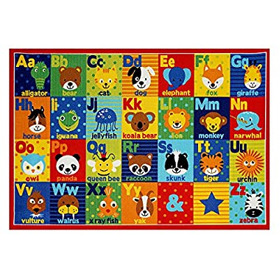 Smithsonian Bedding Alphabet Learning Carpets Educational ABC Playmat Classroom Decorations Area Rugs