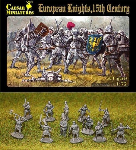 Caesar Miniatures 1/72 European Knights 15th Century # 091 by Caesar Miniatures ()