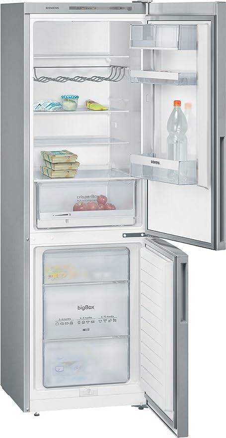 Siemens KG36VVL30 congeladora - Frigorífico (Independiente, Acero ...