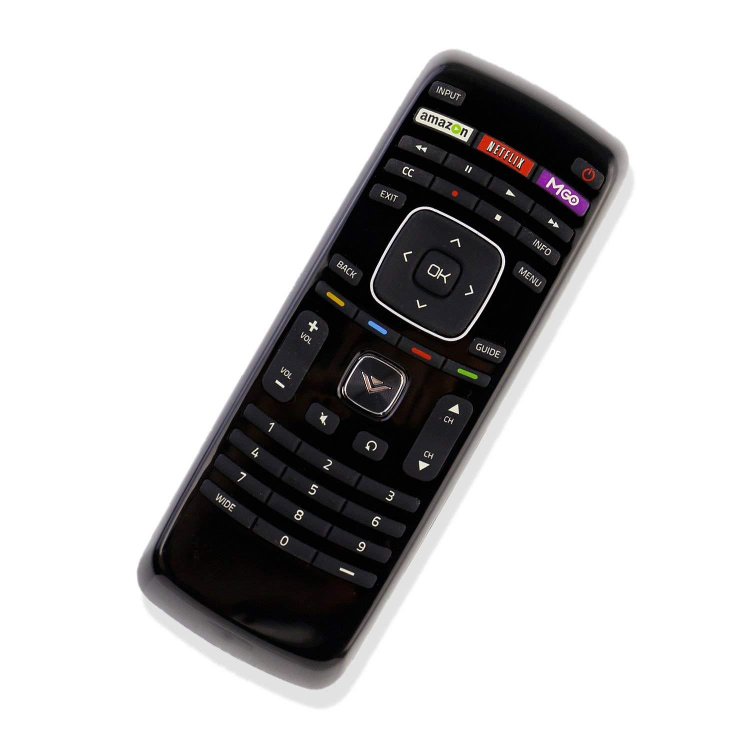 New VIZIO Universal Remote XRV4TV for Almost All Vizio Brand LCD and LED TV E320I-A2 E320i-A0 E322AR E422AR E502AR E370VP E420VT E422VLE M320SL M370SL E422VLE E472VLE (B-XRT112)