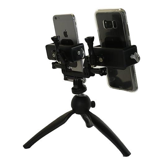 Amazon.com: livestream Gear – Dual Phablet trípode para el ...