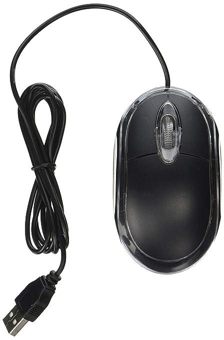 Lyanther Mouse 3D a 3 pulsanti 3D USB 800 Dpiâ con ratón a scorrimento Ottico con