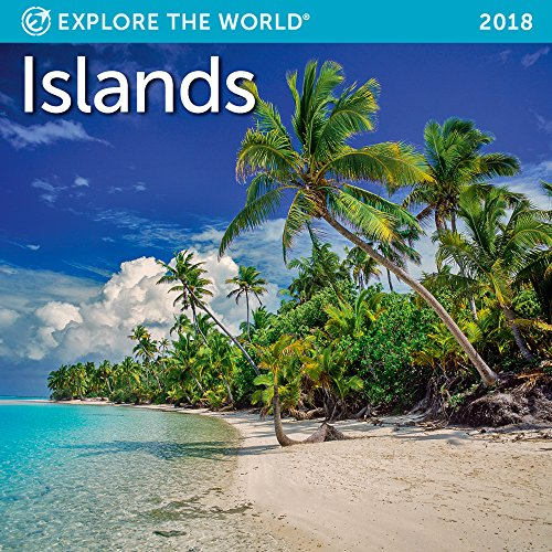 Islands Mini Wall Calendar 2018