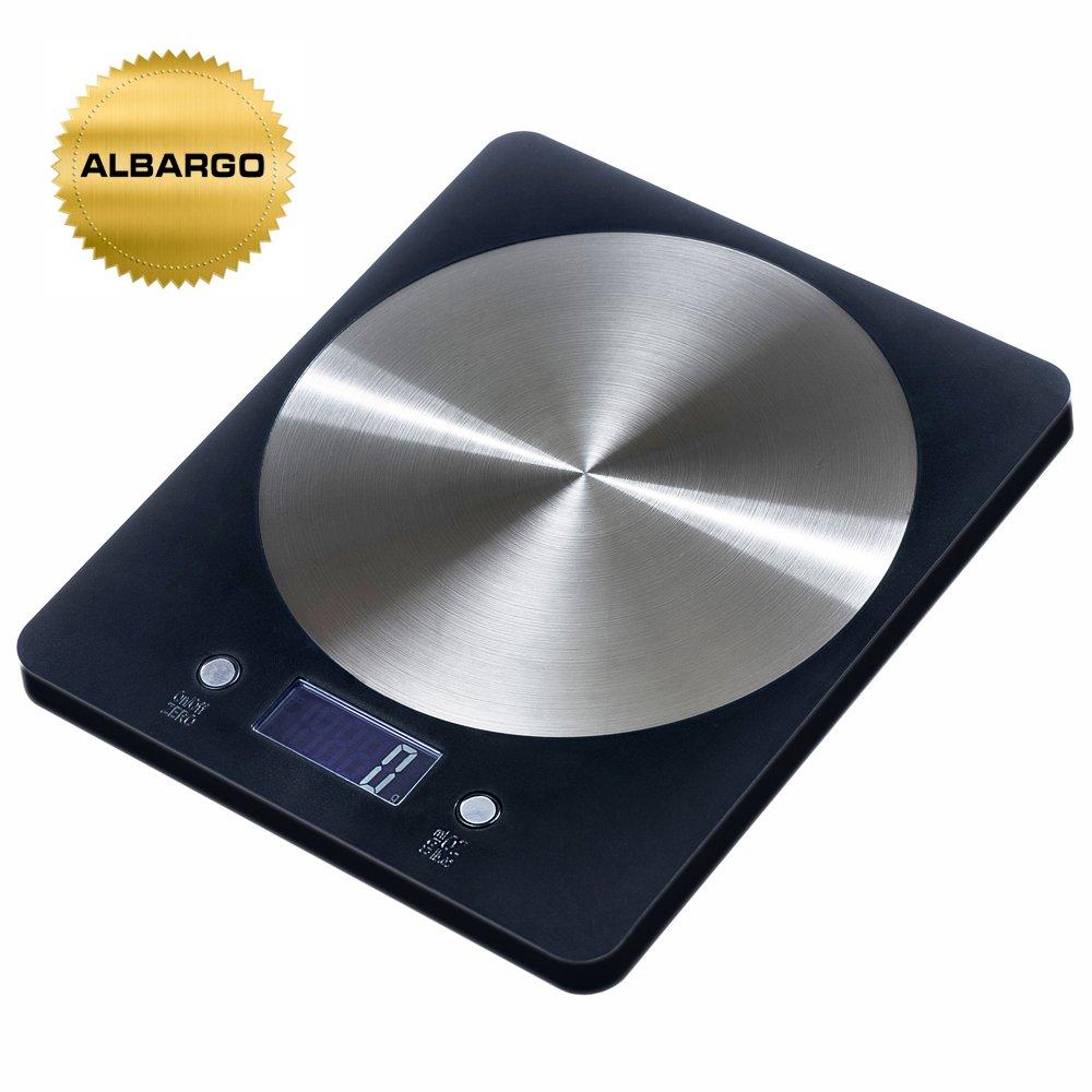 ALBARGO - elektronische Küchenwaage bis 5kg | Briefwaage ...