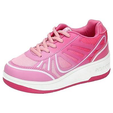 BEPPI 2150403 Zapatillas DE Ruedas NIÑA Deportivos Rosa 37: Amazon.es: Zapatos y complementos