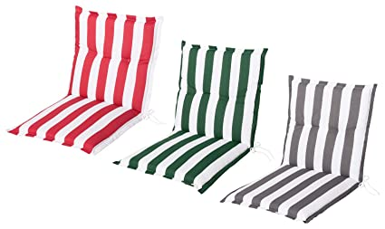 Schwar Textilien - Cojín para Silla de jardín, Respaldo bajo ...