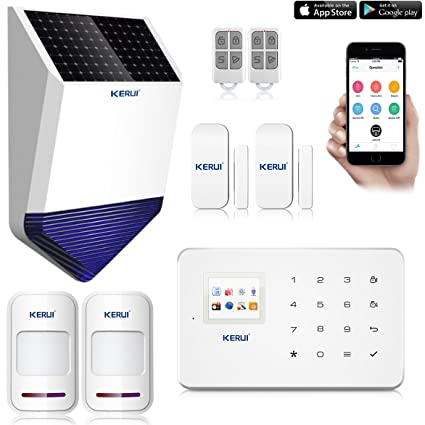 KERUI G18 alarma casa inalámbrico Detector de movimiento, intrusión detectores de apertura/Avisador de