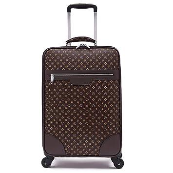 ZZYY Carretilla para Maletas con Ruedas universales Male Male 18 Inch Travel Box Caja de Equipaje Lock 20 aeronaves Maletas de Viaje: Amazon.es: Hogar