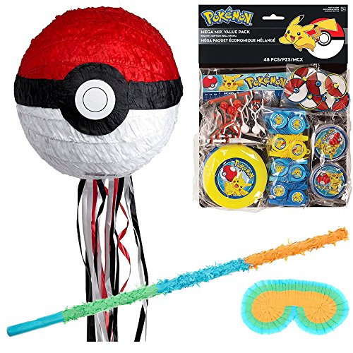 Costume SuperCenter Pokemon 3D Pinata Deluxe Kit ()