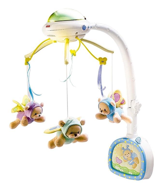 Fisher Price - Móvil ositos voladores con radiocontrol (Mattel ...