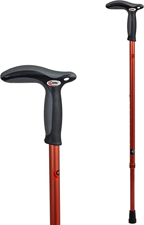 Amazon.com: Carex Health Brands Hiking Cane Walking Stick ...