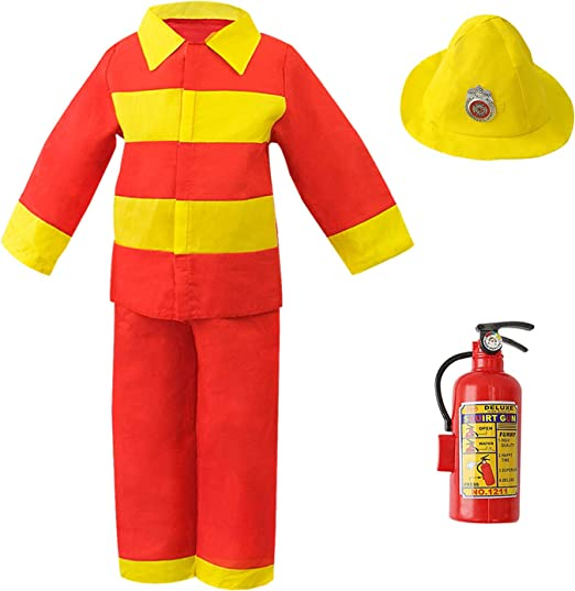 FIREFIGHTERS TO THE RESCUE BOYS PANTS SET SIZE 12 /& 24 MONTHS BABY GEAR 2-PC