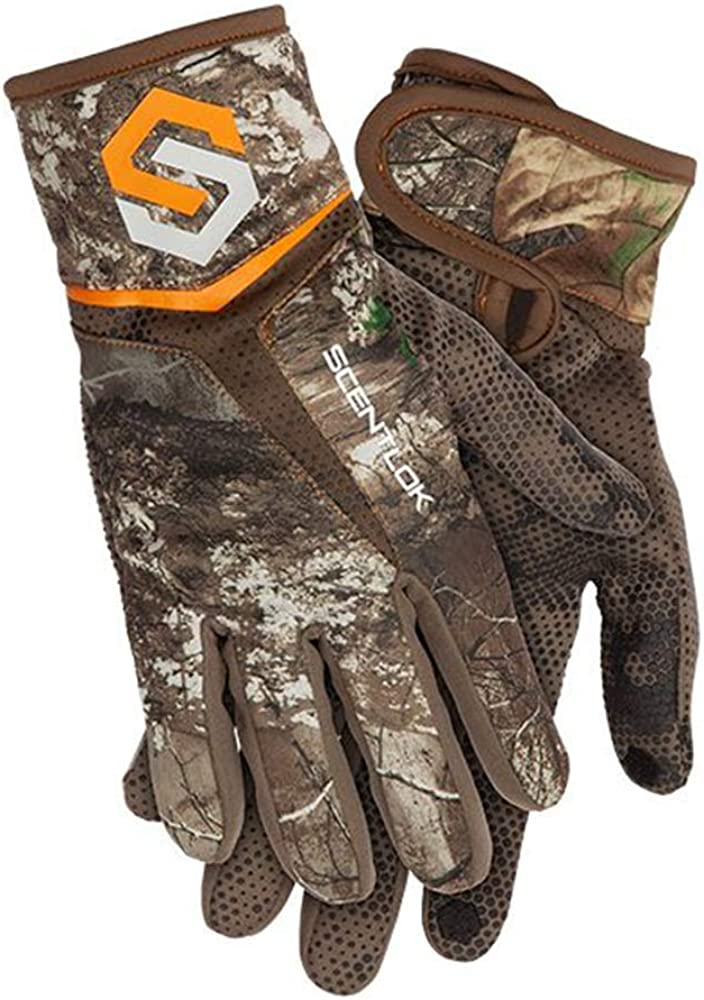 Amazon.com: ScentLok Men's Full Season Midweight Bow Release Camo Hunting Gloves: Sports & Outdoors