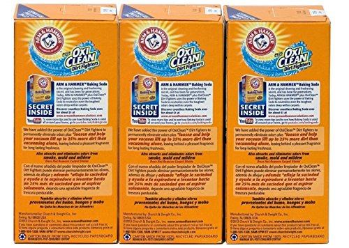 Arm & Hammer Pet Fresh Carpet Odor Eliminator Plus Oxi Clean Dirt Fighters (Pack of 3) - 2