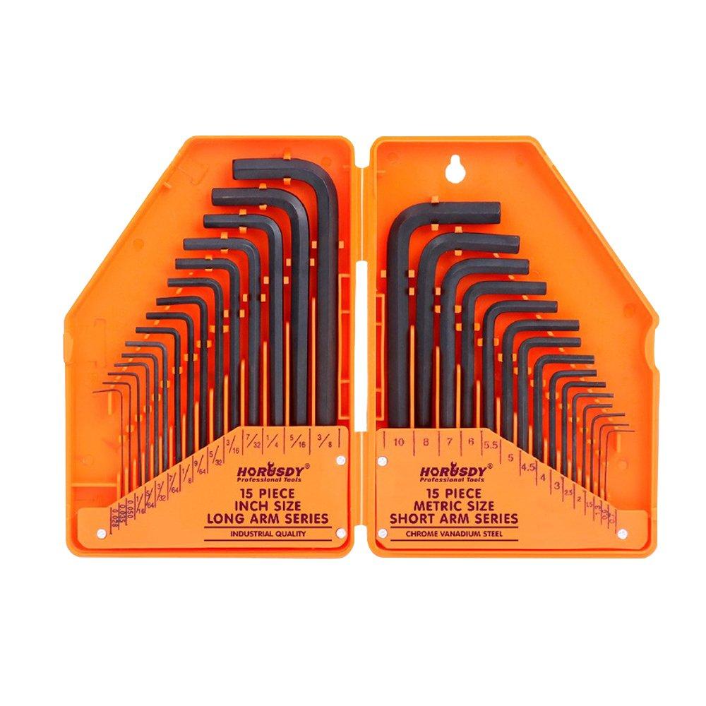 SHOHASH 六角棒レンチセット L型 30本組