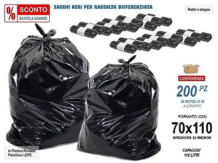 Oferta -12% caja de 200 unidades - Bolsas Neri basura para ...
