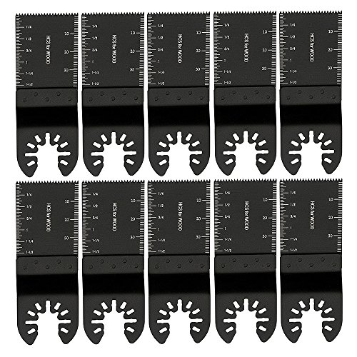 LoveStory 10PCS Wood Metal Oscillating Saw Blades Universal Quick Release...
