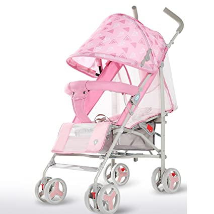 ZGP &Cochecito de bebé Cochecito de bebé Bolsillos pequeños ultraligeros Los carritos para niños se Pueden
