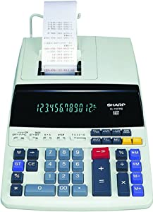 Sharp EL1197PIII Two-Color Printing Desktop Calculator