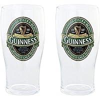 2 vasos de colección pintados con el logo