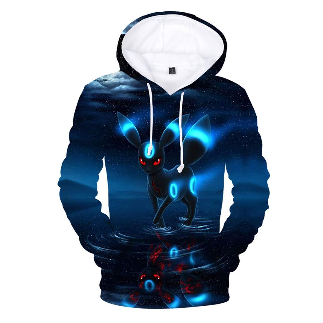 Amazon.com: KouShui Pocket 3D Print Hoodie Anime Spring Sweatshirts Casual Men/Women Hoodies Men Plus Size Navy Blue M: Clothing