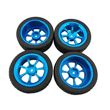 Fytoo 4pcs Rueda Neumático para 1/18 Wltoys A959-B A979-B A959 A969 A949 A979 K929 A969-B K929-B RC Carro Accesorio: Amazon.es: Juguetes y juegos