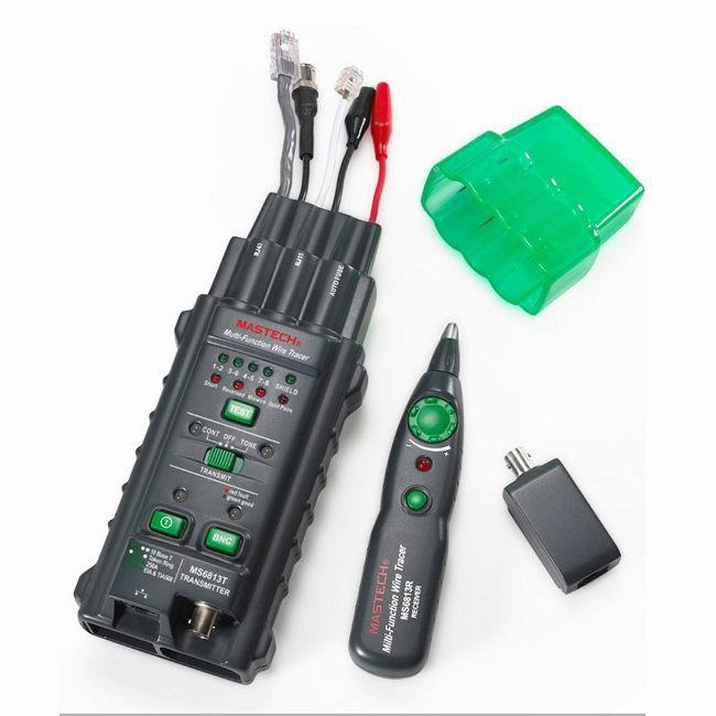 Mastech MS6813 Multifunction Network Cable & Telephone Line Tester Detector Tracker Autoranging multimeter