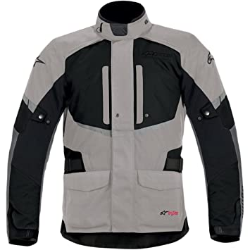 Alpinestars Andes Drystar Jacket – Chaqueta para hombre, color gris claro/negro nuevo M