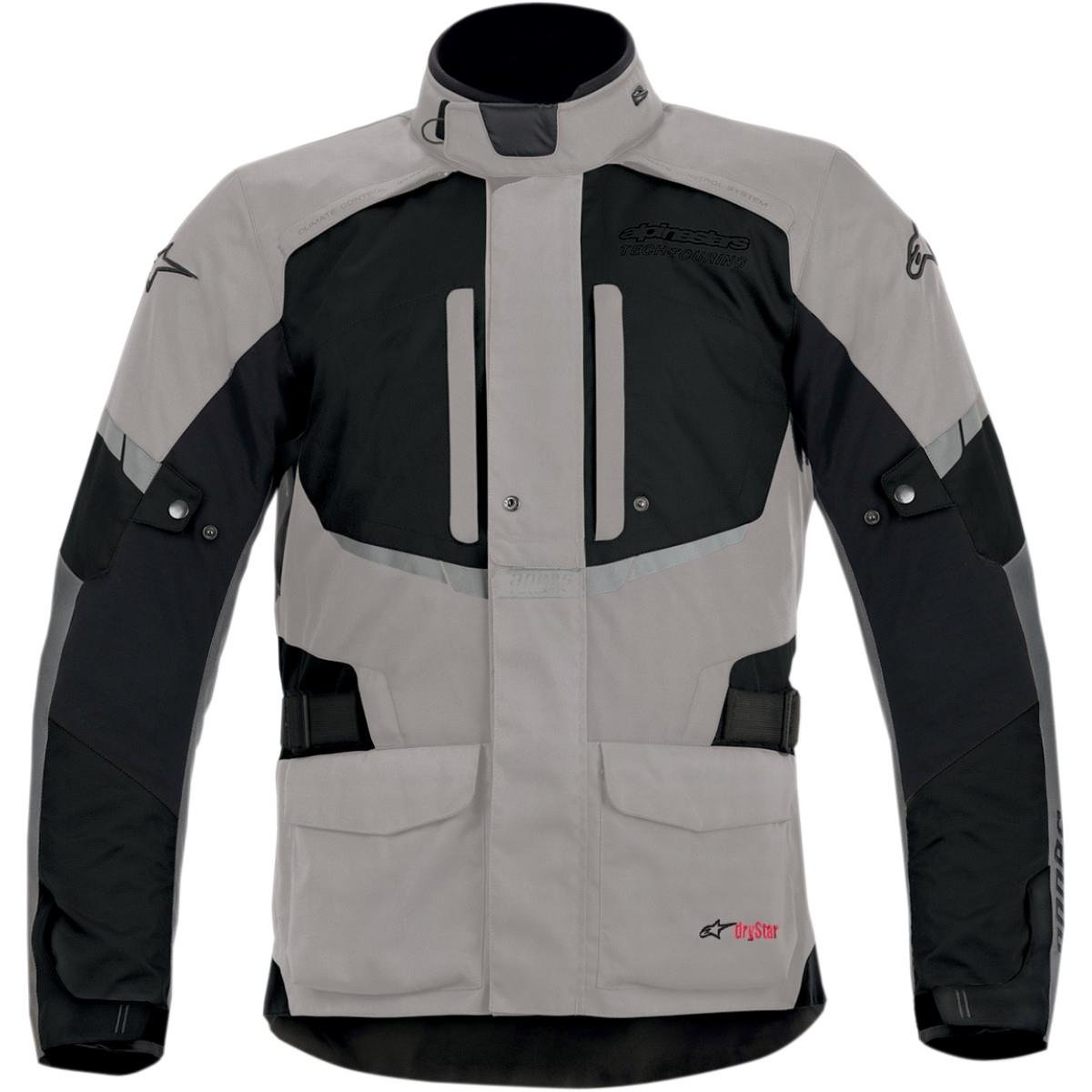 Alpinestars Mens Andes Drystar Textile Jacket 2013 X-Large Grey Black