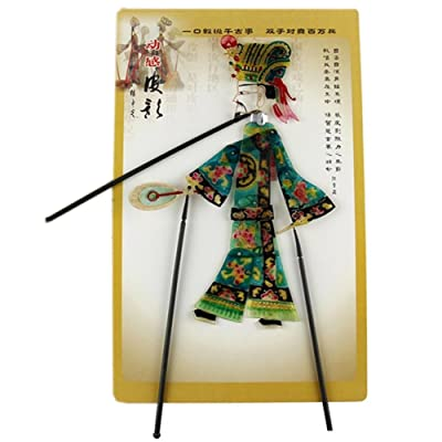 Kylin Express Chinese Traditional Shadow Puppet, Hand Puppet, Wise Man: Toys & Games