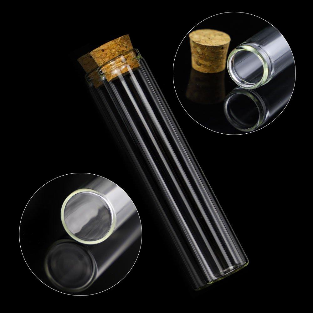sourcing map Beige Perc/é Silicone Bouchon Stopper pour Flacon Test Tube Bouchons 33-38mm 1 Pcs