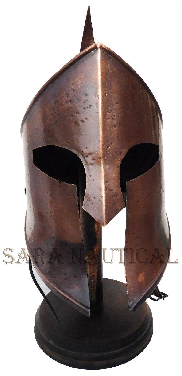 All Metal 300 Spartan Helmet Metal Collectible Decorative Antique Item Halloween Helmet by Expressions Enterprises (Image #2)