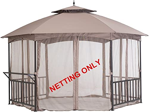 Sunjoy Accessory Replament Mosquito Netting for Gazebo Item D-GZ076PST-D