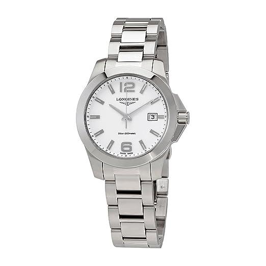 Longines Conquest L3.378.4.16.6 - Reloj de Pulsera para Mujer (Acero Inoxidable