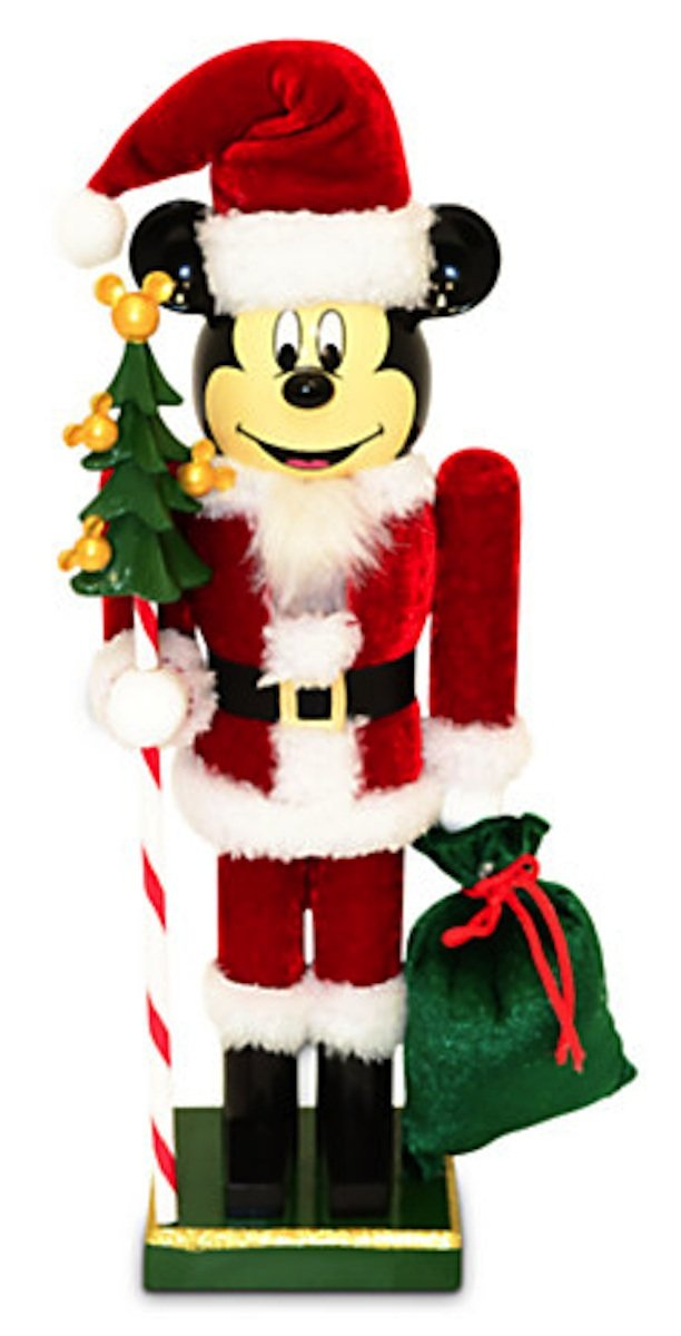 Disney Parks Santa Mickey Mouse Nutcracker Christmas Holiday NEW