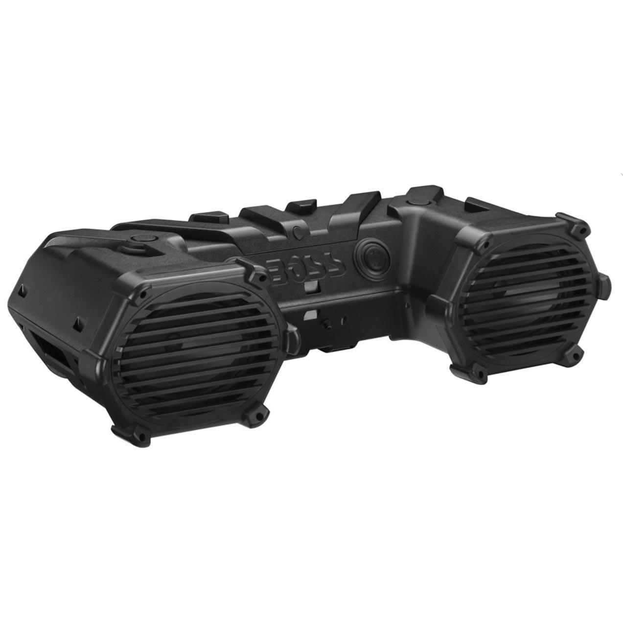 BOSS Audio ATVB69 Bluetooth, Amplified,  ATV/UTV Sound System, Weather-Proof Marine Grade, Bluetooth Remote, 12 Volt Application Friendly