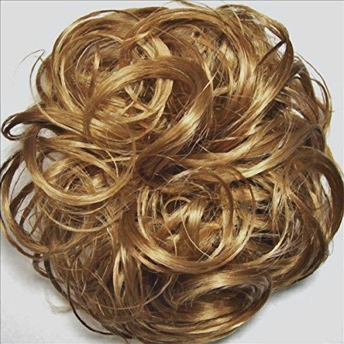 KATIE 7 inch Pony Fastener Hair Scrunchie - 19 Light Strawberry Blonde
