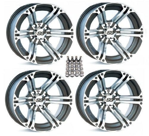 ITP SS212 ATV Wheels/Rims Machined 15″ Can-Am Commander Maverick Renegade Outlander