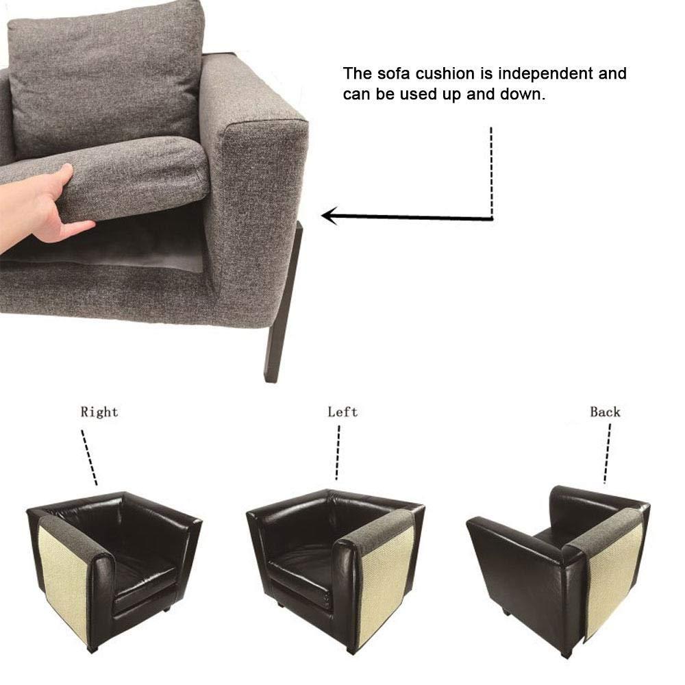 Amazon.com: Womde Cat Scratch Mat Sofa Shield - Cat Scratch Board Furniture Pet Kitten Scratch Pad Mat Table Chair Sofa Legs Mat Sisal Table Chair Sofa Legs ...