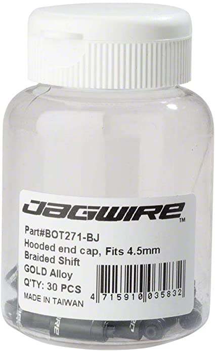 NEW Jagwire Universal Sport Shift Cable Kit Braided White