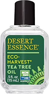 product image for Desert Essence Eco-Harvest Tea Tree Oil - .5 Fl Oz - Therapeutic Pedicure - Helps Eliminate Dead Skin Cells - For Glowing, Softer Skin - Hair Care - Household Cleansing - Antiseptic - Skin Care