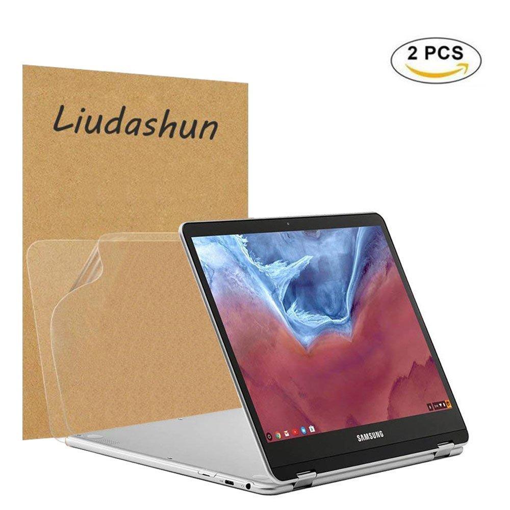 samsung chromebook plus V2 Screen Protector,HD Clear LCD Anti-Scratch Anti-Fingerprints Guard Film For 12.2'' samsung chromebook plus V2 2-in-1(Such as Model: XE521QAB-K01US) Laptop(2-pack)
