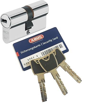 ABUS Profilzylinder XP2S XP20S Türzylinder Schloss Gleichschließend 3 Schlüssel