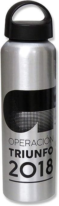 Operación Triunfo - Botella Oficial Academia OT 2018 - Aluminio 600 ML - Color Aluminio: Amazon.es: Juguetes y juegos