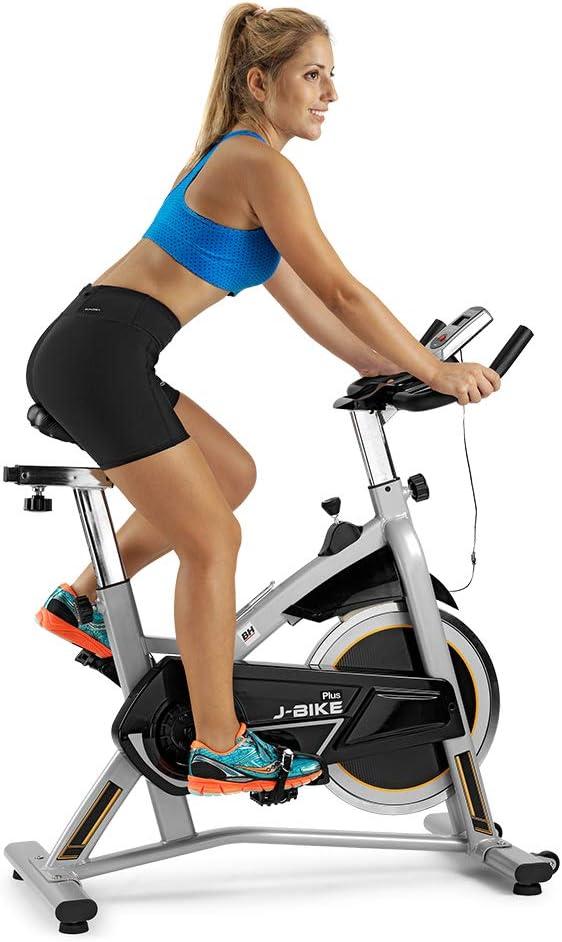 BH Fitness – H9135A VELBOS– Bicicleta de Ciclo Indoor Spinning Jet Bike Plus- Volante de Inercia de 16 Kg - Edición Exclusiva: Amazon.es: Deportes y aire libre