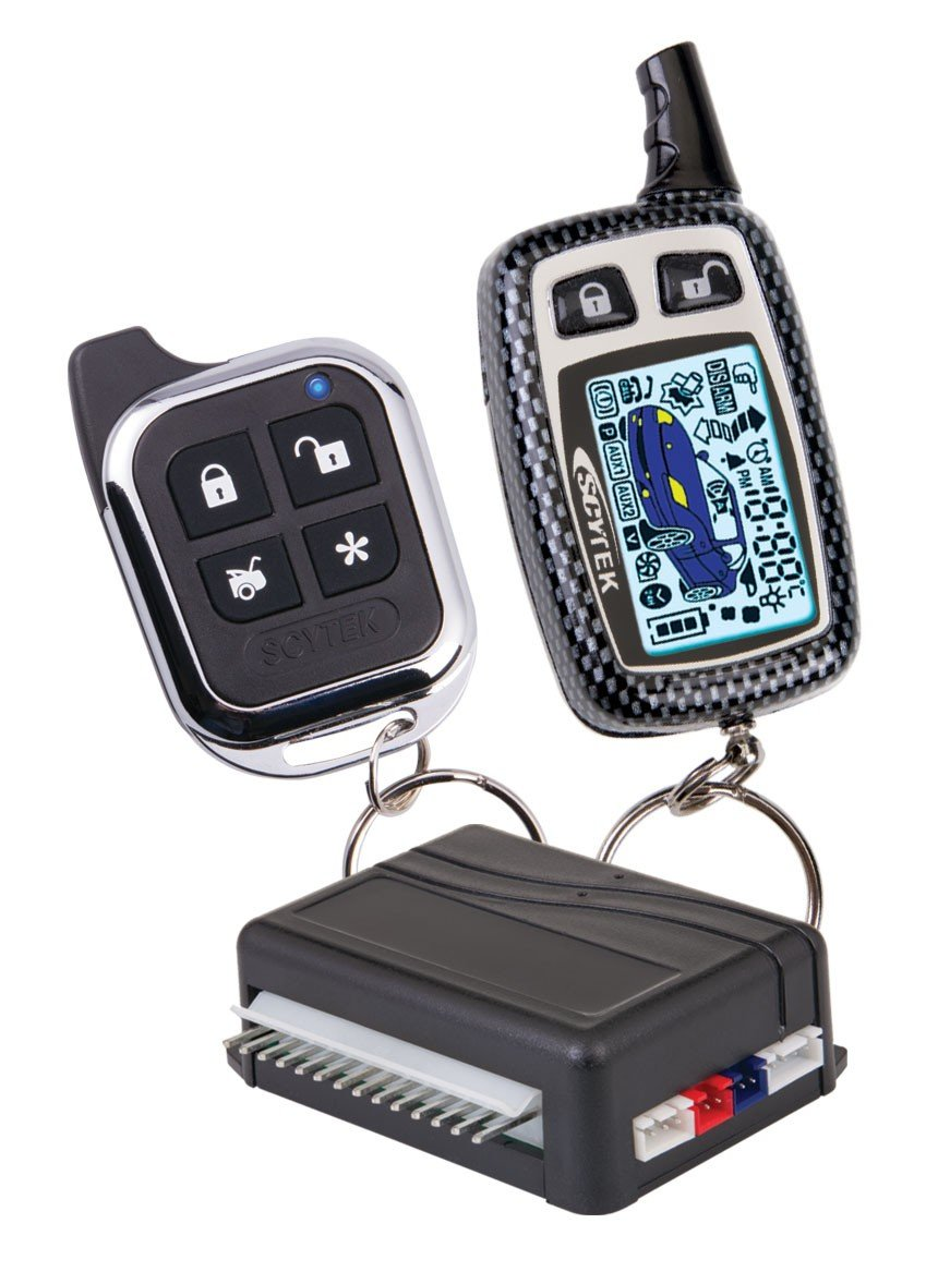 Amazon.com: Scytek Astra 777 2-Way Paging Car Alarm Vehicle Security System  with LCD remote Transmitter: Cell Phones & Accessories