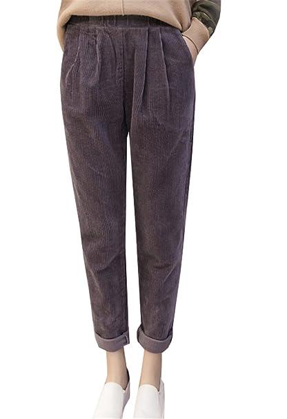 Dabag Pantalone Largo Nero Donna 78 Pantaloni Casual Relaxed