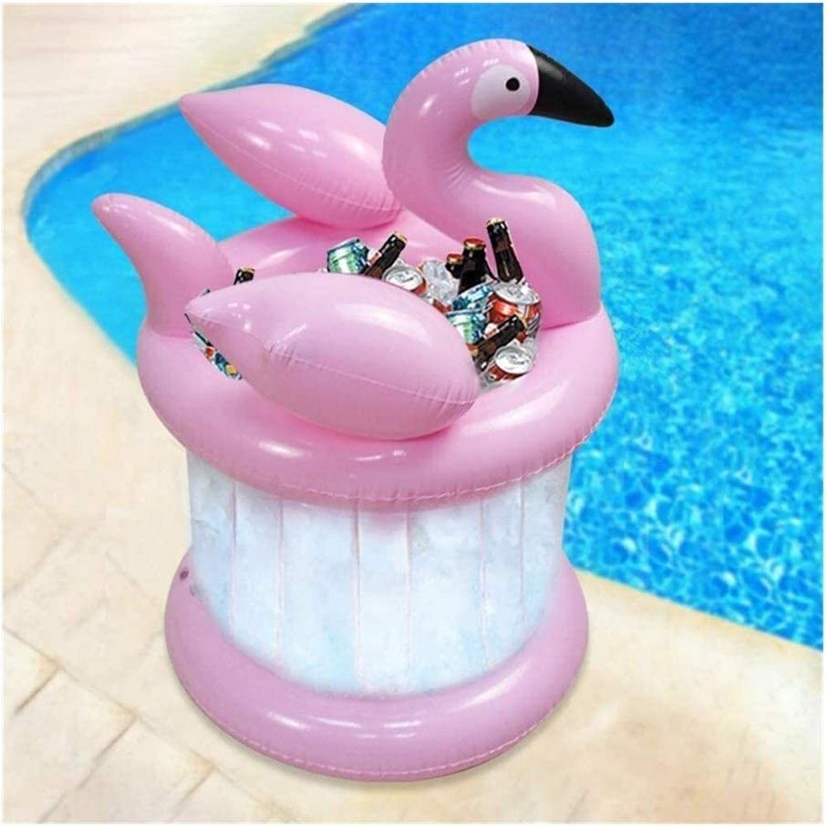 Inflatable Beverage Cooler,Portable PVC Ice Bucket Suitable For Beach Theme Party Beer Barrel Wine Bottle Coolers 9.10